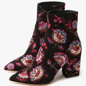 - loeffler randall floral isla bootie
